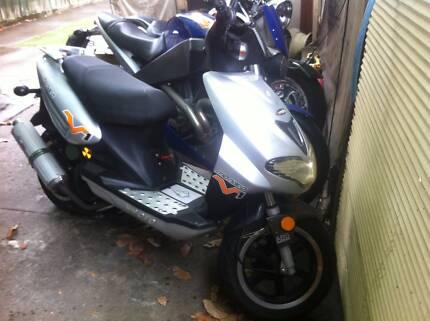 Vmoto Monaco 125cc Scooter SOLD SOLD SOLD