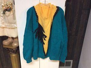 Chandails, cardigan tricotés pour femme, et bébé.