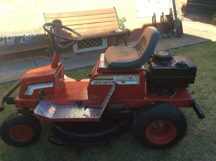 Rover ride on lawn mower 12.5 hp