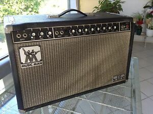 1976 Music Man Guitar Amplifier 'Sixty Five' 210 Bell Dalby Area Preview