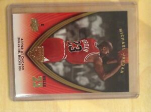 Michael Jordan basketball card