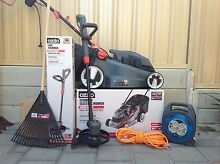 Small backyard electric collection: Electric mower & sniper/edger Seaford Meadows Morphett Vale Area Preview