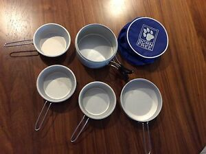 Compact aluminium camping cookware in great used condition. Rowville Knox Area Preview