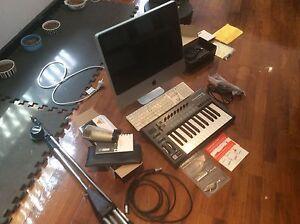 Studio Equipment - computer/midi/mic/mbox/accessories Jannali Sutherland Area Preview