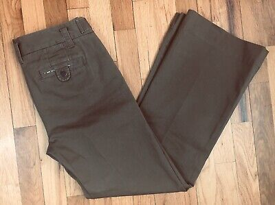 J.Crew Weathered Chino Pants Women's Broken In City Fit Classic Twill Sz 0 NWOT