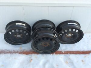 Car rims 16 inch. Of newer vehicle.  $100.00
