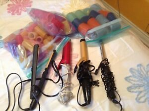 CURLING IRONS! STRAIGHTENER, Velcro rollers NEW PRICE