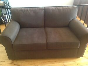 Freedom couch chocolate brown