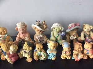 CHERISHED TEDDIES COLLECTIONS & OTHER BEARS COLLECTIBLES