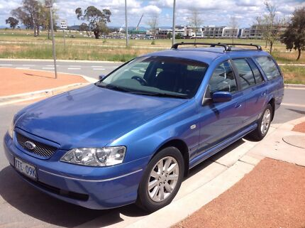 2004 Ford Falcon Wagon Page Belconnen Area Preview