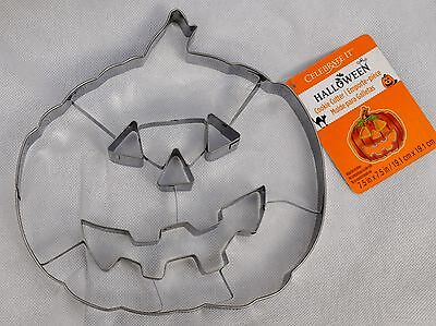 Jumbo Pumpkin Cookie Cutter Metal 7-3/4