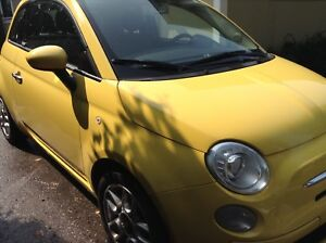 Fiat 500 covertible