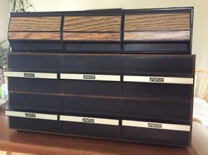 Cassette tapes storage boxes very good condition