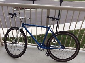 Blue road bike for sale