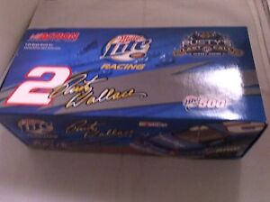 Diecast Racing Car Rusty Wallace #2 Miller Lite. Lower Price  Peterborough Peterborough Area image 6