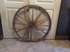 Old wheel for sale.