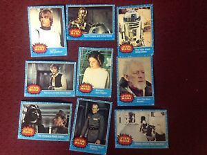 1977 STAR WARS SERIES ONE Complete Set 66 cards
