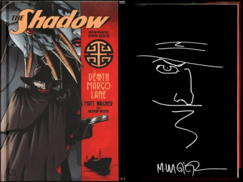 Matt Wagner SIGNED The Shadow Death of Margo Lane LE Variant Cover Original Art