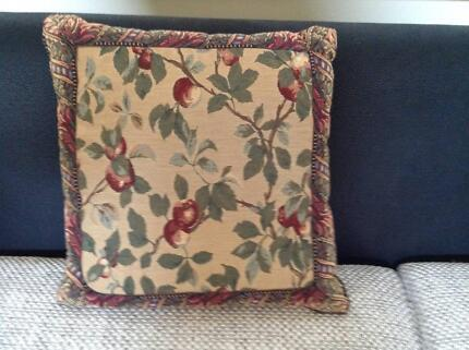 Cushion - Floral Tapestry Brighton East Bayside Area Preview