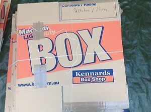 Used moving/packing boxes (mostly Kennards) Frenchs Forest Warringah Area Preview
