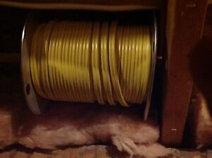 Wire. 12/2 yellow