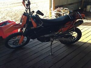 2008 KTM690 Springsure Central Highlands Preview