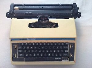 Vintage Brother Cassestte Typewriter