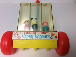 Fisher Price vintage Little People Happy Hoppers