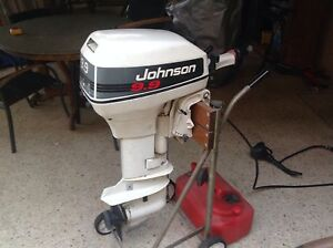 OUTBOARD MOTOR -JOHNSON 9.9 HP EXCELLENT CONDITION Wangara Wanneroo Area Preview