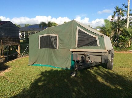 2001 Evernew camper trailer Tully Cassowary Coast Preview