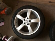 """17"""" CSA rims and tyres Henley Beach Charles Sturt Area Preview"""