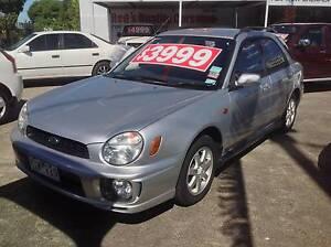 2001 Subaru Impreza Hatchback (SN: 345 - WYW-220) Preston Darebin Area Preview