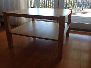 Wooden Coffee Table Mosman Mosman Area Preview