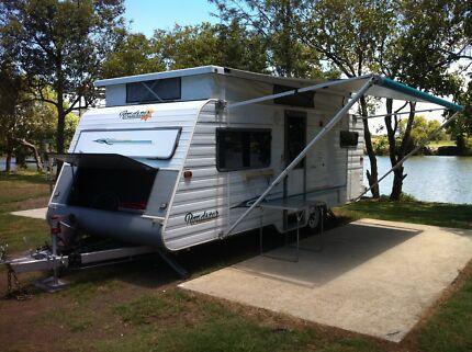 Pop top caravan in excellent condition
