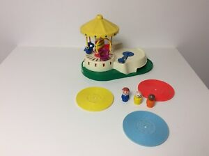 Fisher Price vintage Little People Change-A-Tune Carousel