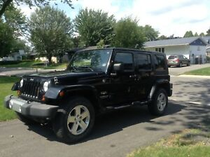 Jeep 2008 Wrangler Sahara Unlimited
