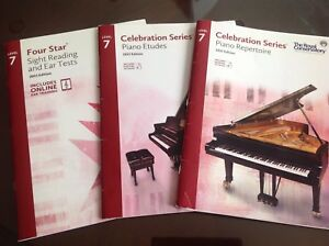 Royal Conservatory RCM Piano Books, level 7, 2015 edition