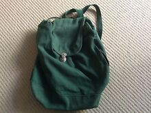 Baggy Green Backpack /Rucksack Rozelle Leichhardt Area Preview