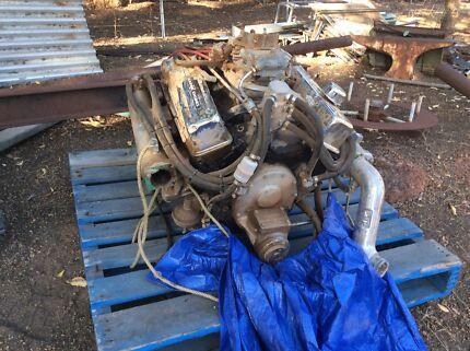 Chevy 350- 4 bolt main marine engine