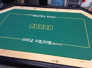 Texas hold'em Poker Table. Card game table