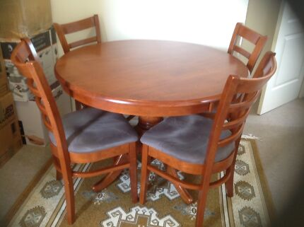 Dining and four chairs