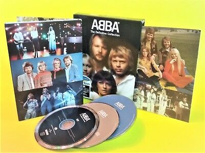 (2CD + DVD-PAL) Non US Region ABBA 74-82 Definitive Collection 602498196144