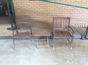 Outdoor timber chairs Pittsworth Toowoomba Surrounds Preview