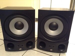 PSB subsonic 5i powered subwoofer (2)