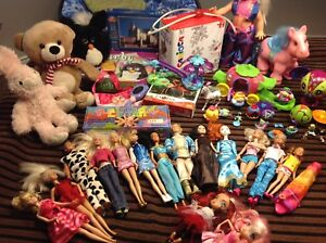 Huge Lot of Girl's Toys, 40+ items, in great condition