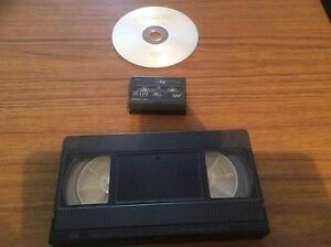 Convert VHS tapes, and mini DV tapes, convert to DVD. Mount Claremont Nedlands Area Preview