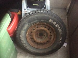 tire from 2002 dodge Dakota