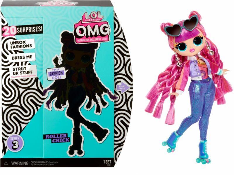L.O.L. Surprise! - LOL SURPRISE OMG DOLL- Roller Chick