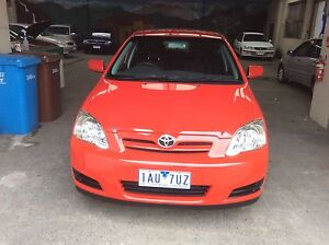 9/2005 TOYOTA COROLLA AUTO ACCENT SECA HATCHBACK Ferntree Gully Knox Area Preview