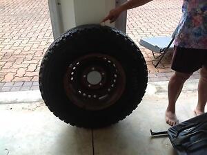 Split rim tyre suitable Toyota Troopy Fannie Bay Darwin City Preview